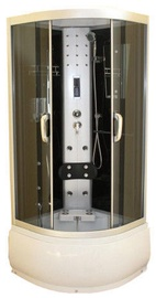 Dušas kabīne Wale 7080, pusapaļā, 800x800x2150 mm