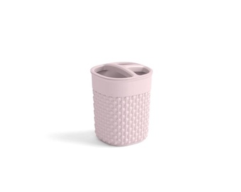Kronšteins Kis Filo Desert Rose Toothbrush Glass 9x9x12cm Pink