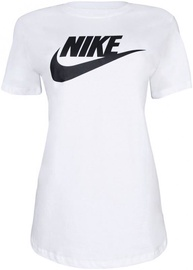 T-krekls Nike Womens Sportswear Essential T-Shirt BV6169 100 White L