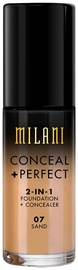 Milani Conceal + Perfect 2in1 Foundation + Concealer 30ml 07