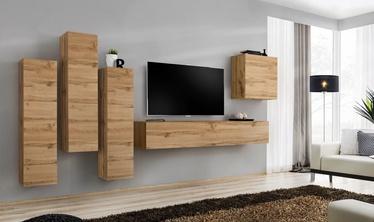 Dzīvojamās istabas mēbeļu komplekts ASM Switch III Wotan Oak