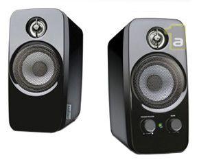 Datoru skaļrunis Creative T10, melna/pelēka, 10 W