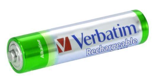 Verbatim Rechargeable Battery AAA 4pcs