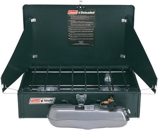 Coleman 2-flame Cooker Unleaded Gasoline