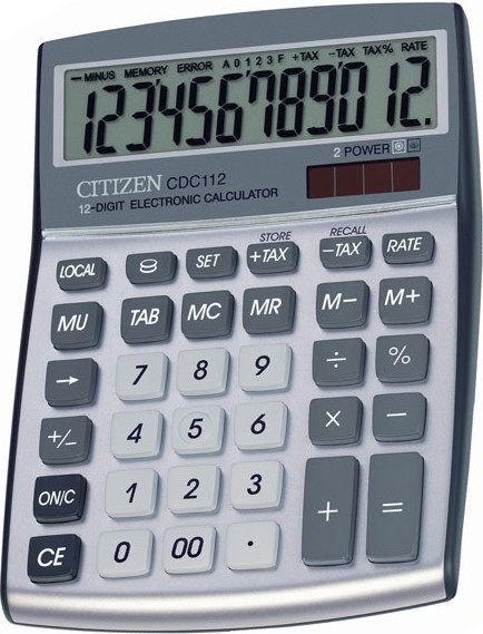 Citizen Calculator CDC 112WB