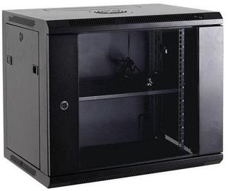 Serveru skapis Netrack Wall Cabinet 19'' 12U/600mm Glass Grey