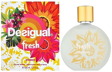 Tualetes ūdens Desigual Fresh 100ml EDT