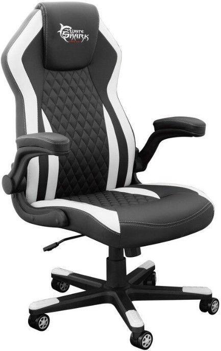 Игровое кресло WhiteShark Dervish K-8879 Black/White