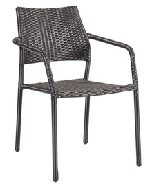 Dārza krēsls Home4you Minster Black