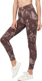 Audimas Printed Functional Tights Misty Rose XS