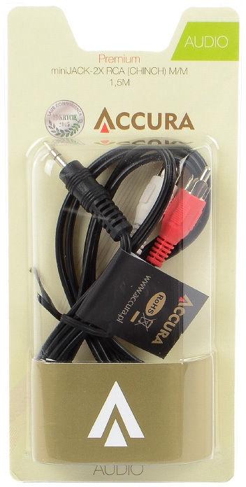 Accura Premium miniJack to RCA ACC2136 1.5m