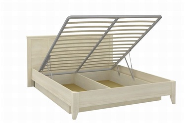 Кровать Angstrem Kantri Light Cream, 160 x 200 cm