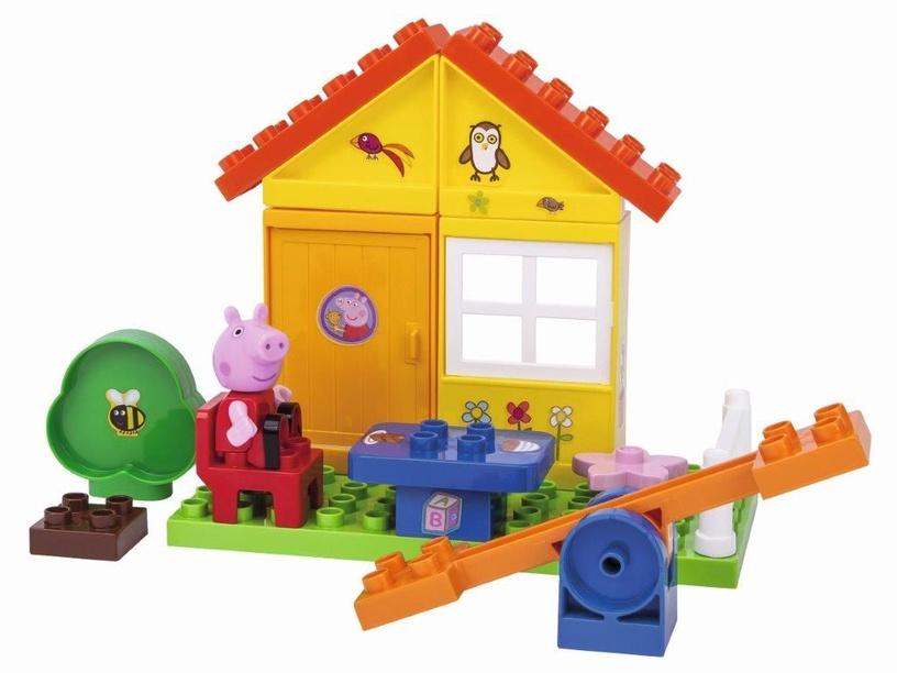 Конструктор BIG Peppa Pig Garden House