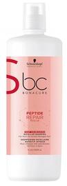 Šampūns Schwarzkopf BC Bonacure Repair Rescue Deep Nourishing Micellar, 1000 ml