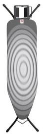 Gludināmais dēlis Brabantia B, 124x38 cm, 22 mm, Titan Oval