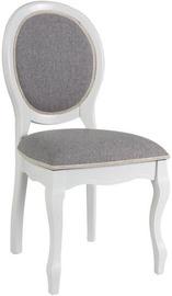 Ēdamistabas krēsls Signal Meble FNSC White/Gray, 1 gab.