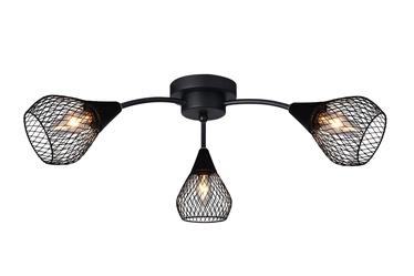 Domoletti Bistro MX51166-3 Ceiling Lamp 3x3W E14 Black
