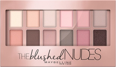 Тени для глаз Maybelline The Blushed Nudes Palette, 9.6 г