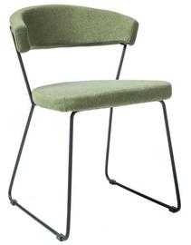 Ēdamistabas krēsls Signal Meble Helix Black Green