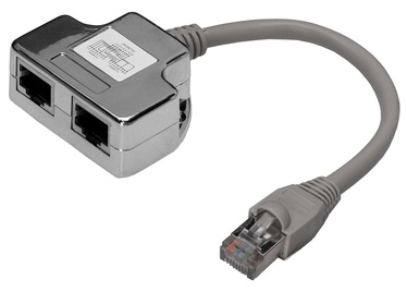 Digitus CAT 5e Class D RJ45 Patch Cable Adapter Shielded