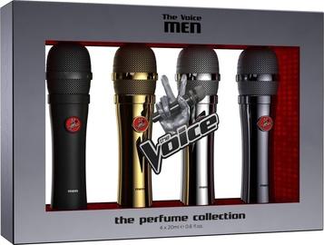 Komplekts vīriešiem The Voice Classic Men 4pcs Set 80ml EDT