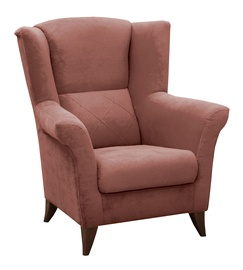 Atzveltnes krēsls Idzczak Meble Kent Pink, 94x75x105 cm