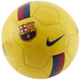 Nike FC Barcelona Supporters Ball Yellow Size 5