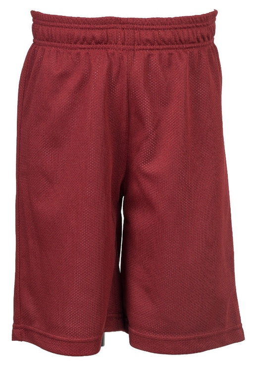 Bars Mens Basketball Shorts Red 29 152cm
