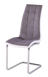 Ēdamistabas krēsls Signal Meble H103 White Grey, 1 gab.
