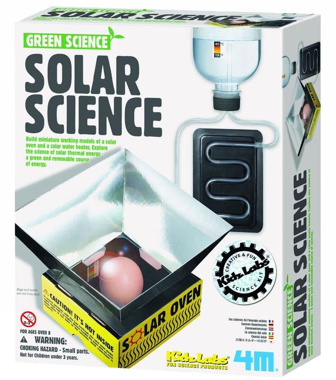 Intelektuāla rotaļlieta 4M Green Science Solar Energy 3278