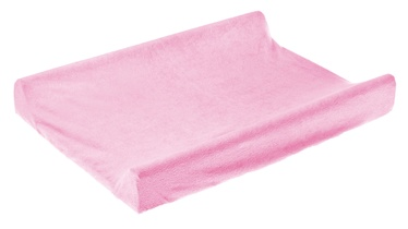 Чехол на пеленальный матрас BabyOno Frotte Cover, 70x50 см, розовый