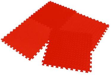 Grīdas segums trenažieriem Enero Puzzle Mat Red 12mm 4pcs
