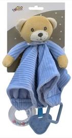 Mīļlupatiņa Tulilo Teddy Bear 5123A, bēša/gaiši zila