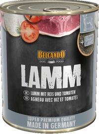 Влажный корм для собак (консервы) Belcando Wet Dog Food With Lamb 800g