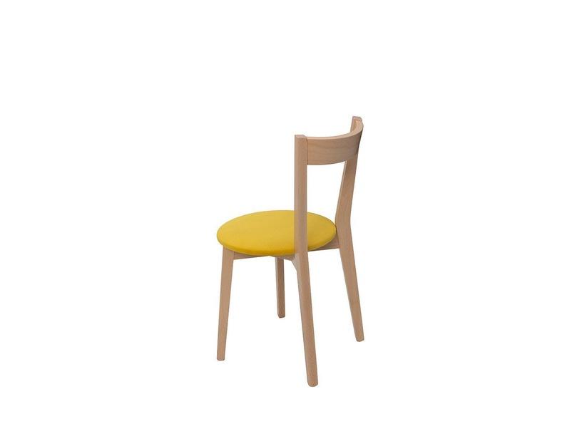 Ēdamistabas krēsls Black Red White Ikka Yellow/Sonoma Oak
