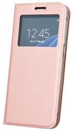 GreenGo Smart Look Book Case For Huawei P10 Plus Rose Gold