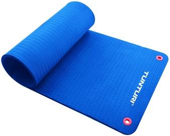 Fitnesa un jogas paklājs Tunturi Pro, zila, 180 cm x 60 cm
