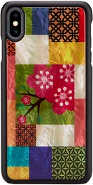 iKins Cherry Blossom Back Case For Apple iPhone XS Max Black