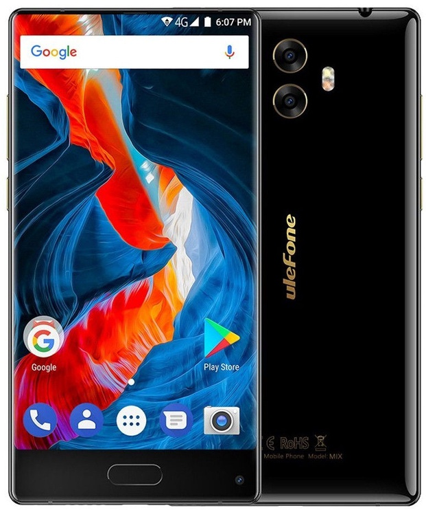 Mobilais telefons UleFone MIX Black, 64 GB