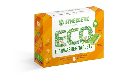 Tabletes trauku mazgājamajai mašīnai DISHWASHER TABS SYNERGETIC 55 PCE