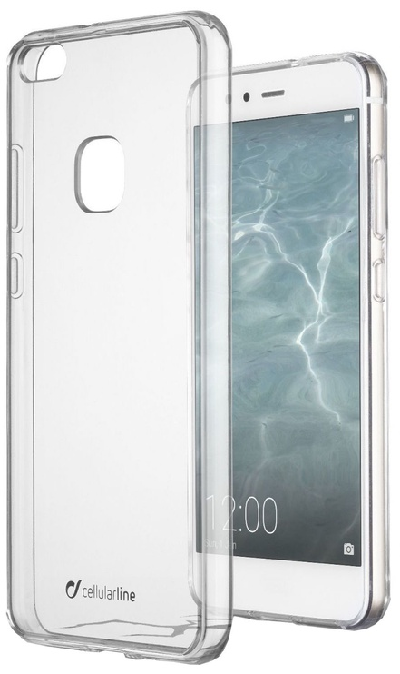 Cellular Line Duo Back Case For Huawei P10 Lite Transparent