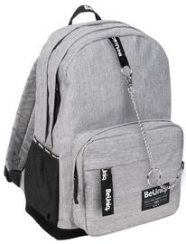 Paso BeUniq Lifestyle School Backpack w/ Belt Bag Grey