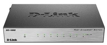 Tīkla centrmezgls D-Link DES-1008D/L2