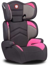 Mašīnas sēdeklis Lionelo Lars, rozā/pelēka, 15 - 36 kg