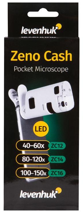 Levenhuk Zeno Cash ZC16 Pocket Microscope White