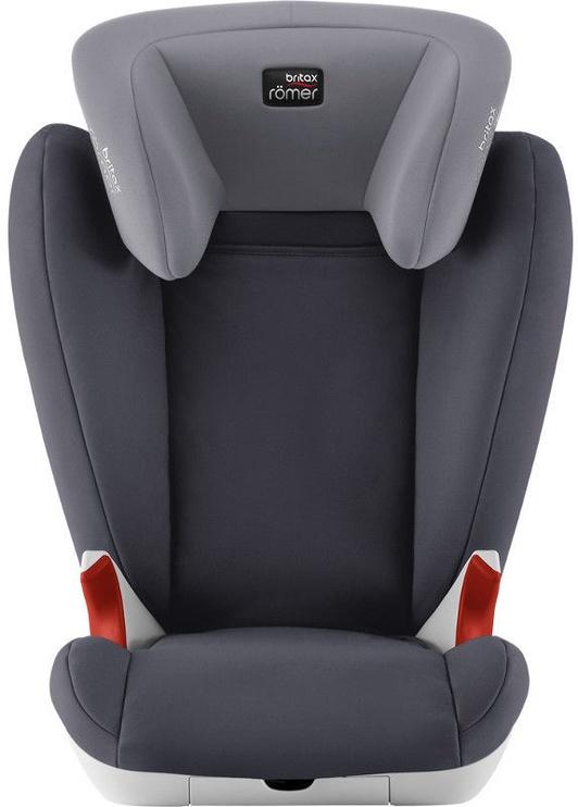 Mašīnas sēdeklis Britax Romer Seat Kid II Black Series Storm Grey, 15 - 36 kg