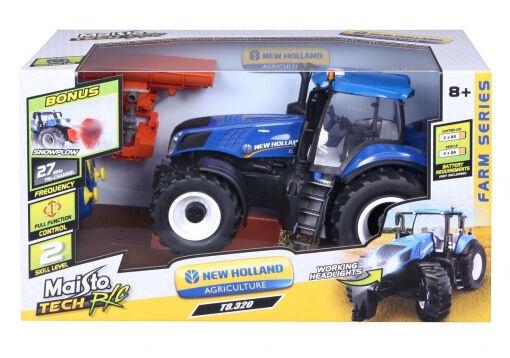 Bērnu rotaļu mašīnīte Maisto New Holland