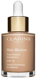 Clarins Skin Illusion Natural Hydrating Foundation SFP15 30ml 109