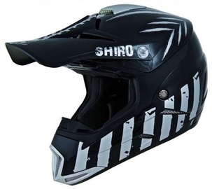 Shiro MX 305 Scorpion Black M
