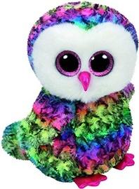 Плюшевая игрушка TY Beanie Boos Multicolor Owl, 24 см